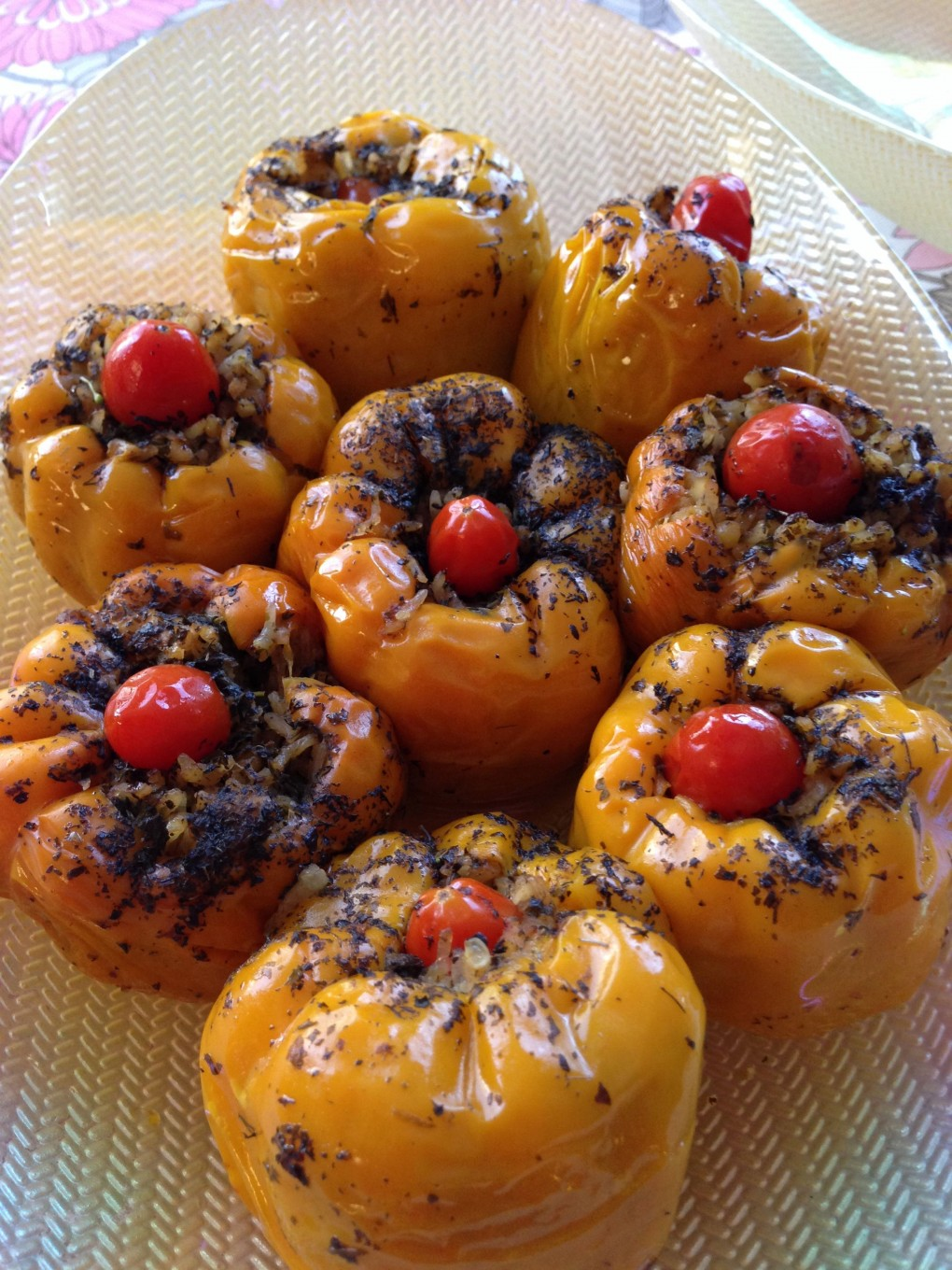 Stuffed bell peppers anatolian cuisine for Anatolian cuisine